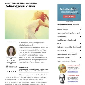 Defining Your Vision