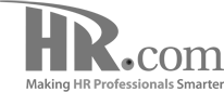 HR.com Logo Gray